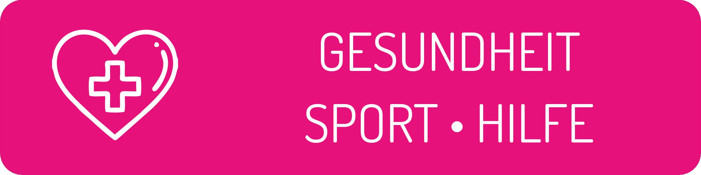 Gesundheit - Sport - Hilfe